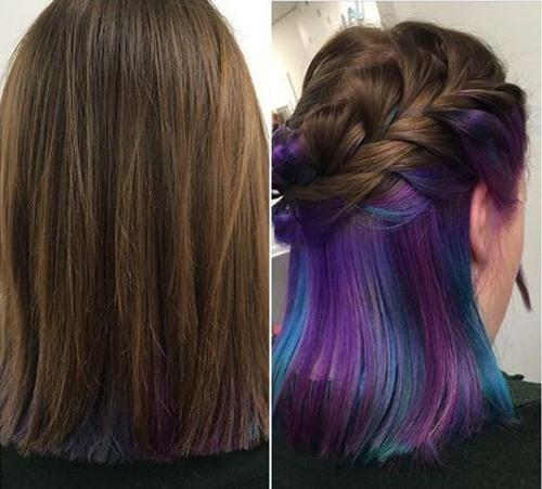 Nên nhuộm tóc màu gì để không bị phát hiện khi đi học 4