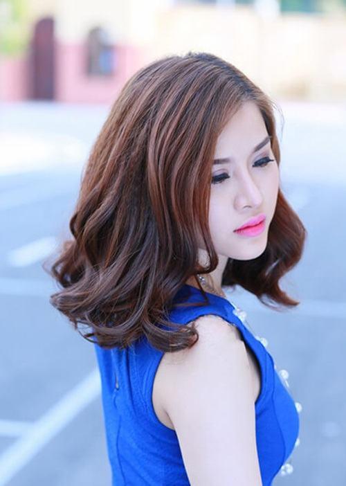 Các kiểu tóc ngang vai cho tuổi 40 trẻ trung so với tuổi thật 8