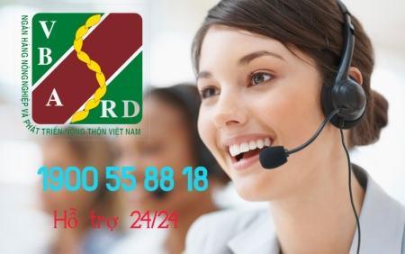 Hotline chăm sóc của ngân hàng