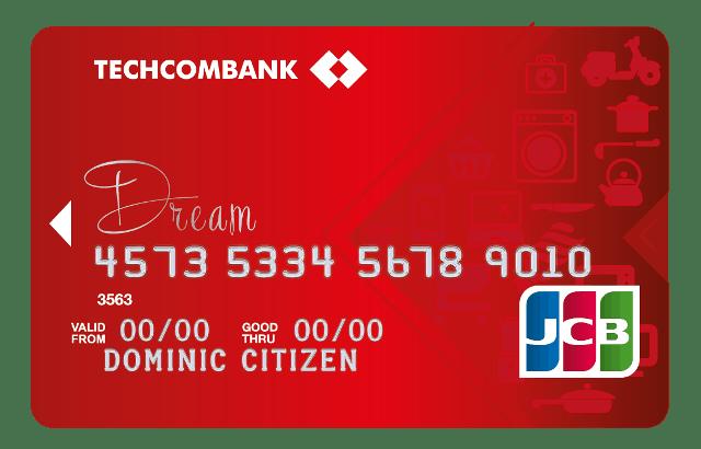 Thẻ tín dụng JCB của ngân hàng Techcombank