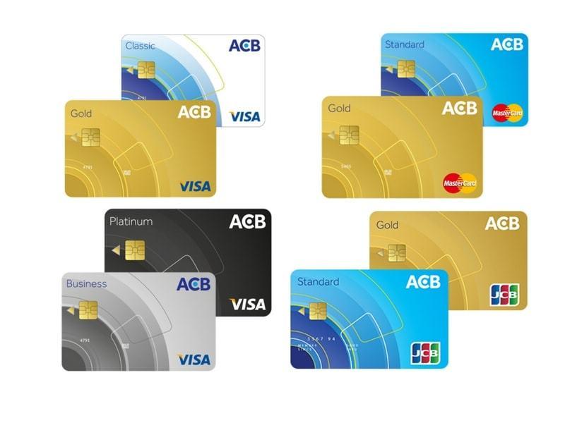 PHÍ RÚT TIỀN thẻ tín dụng ngân hàng ACB chi tiết, nhanh chóng