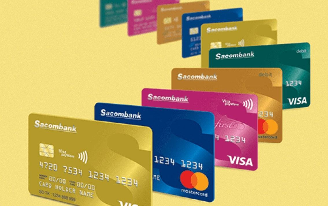 Cách làm thẻ Visa Sacombank