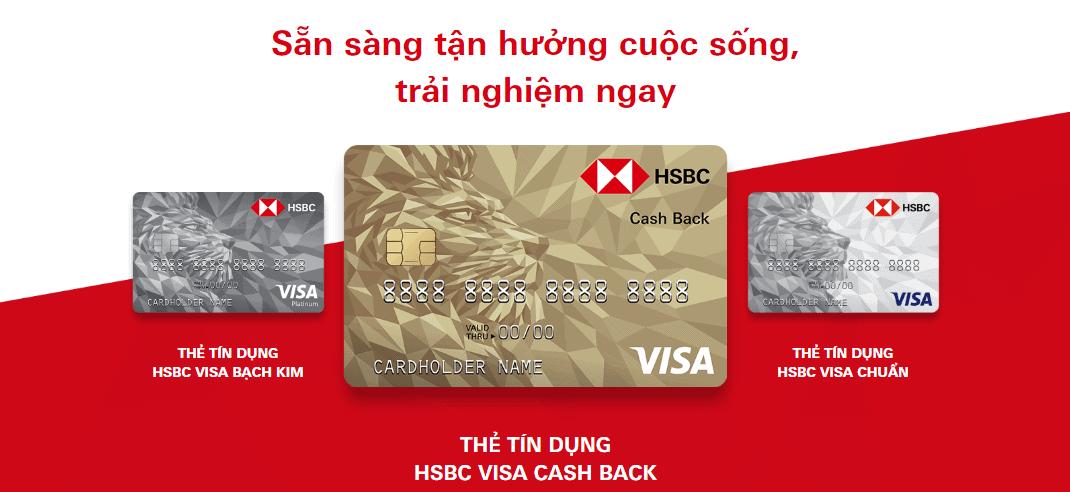 Những điều cần biết khi đăng ký thẻ Visa HSBC