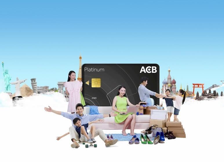 Thẻ visa ACB