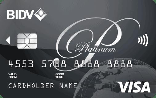 Thẻ Visa BIDV