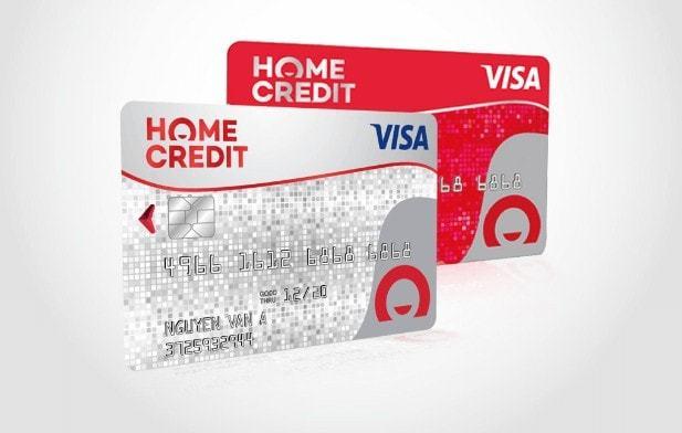 Thẻ Visa Homecredit