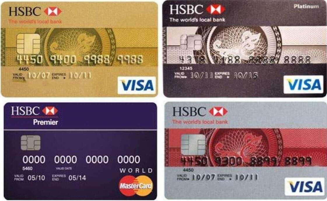 Thẻ Visa HSBC