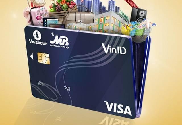 Thẻ Visa MB cùng VinID