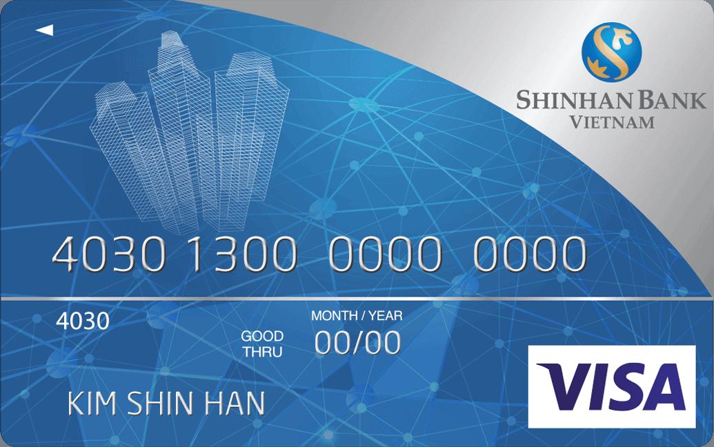 Thẻ Visa Shinhan