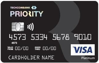 Thẻ Visa Techcombank