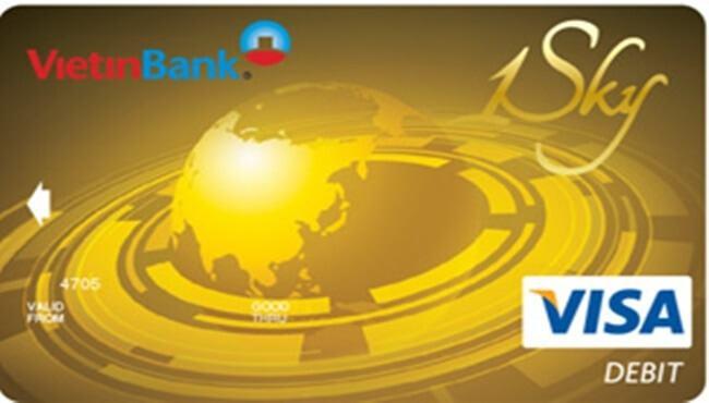 Thẻ Visa Vietinbank