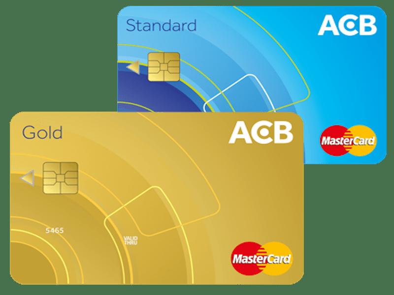 thẻ Mastercard ACB