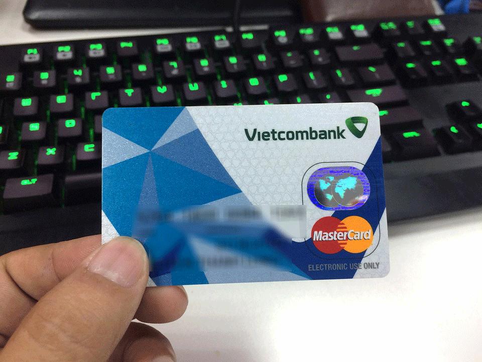 Thẻ Mastercard Vietcombank