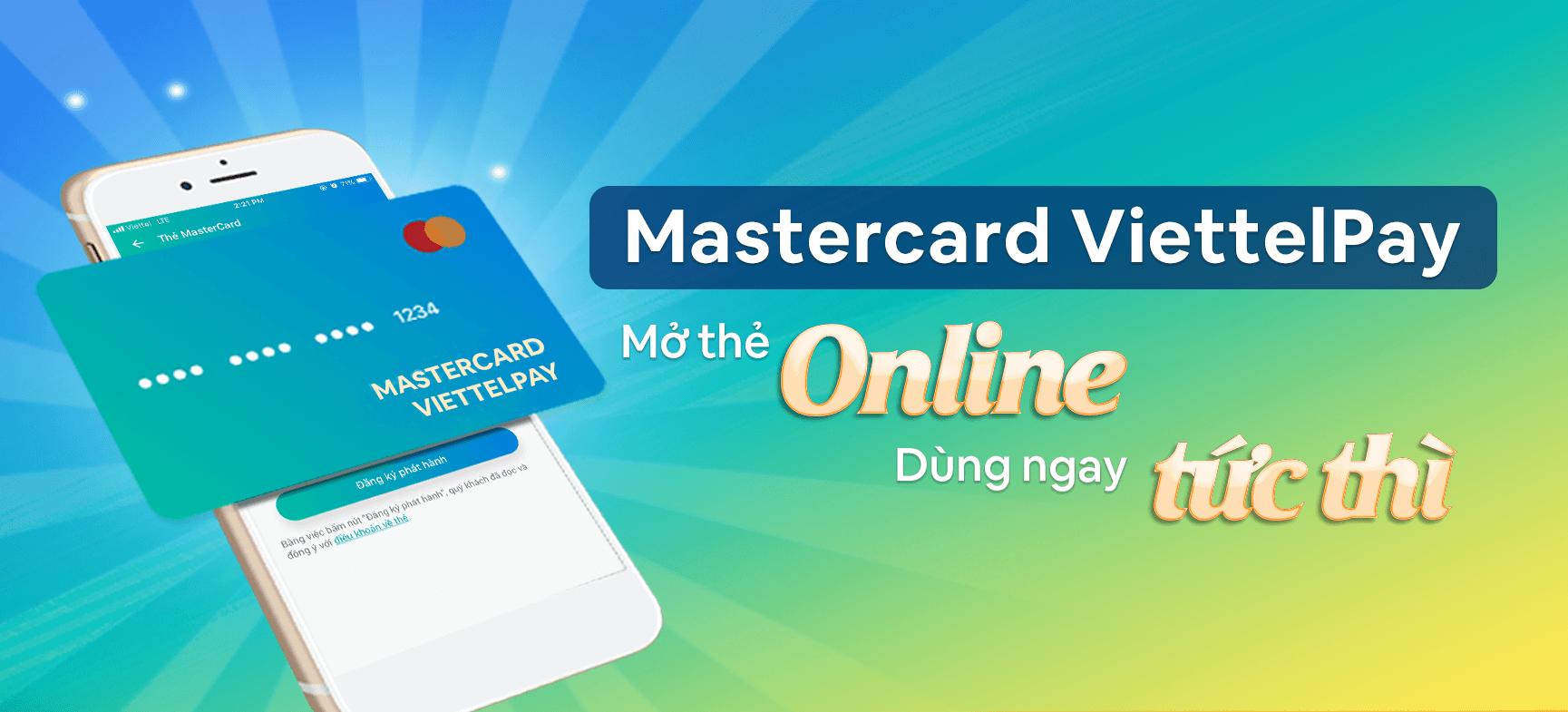 Thẻ Mastercard ViettelPay là gì và hướng dẫn mở thẻ