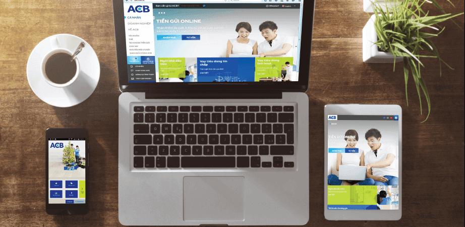 Gửi tiết kiệm ACB