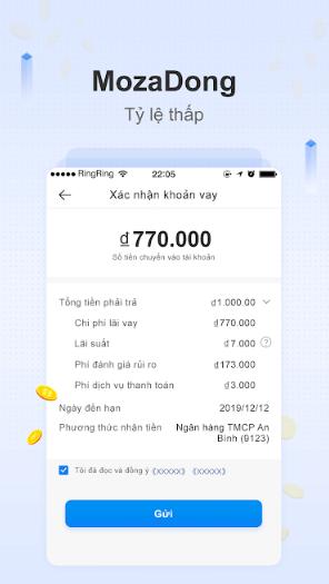 app mozadong vay tiền mặt nhanh