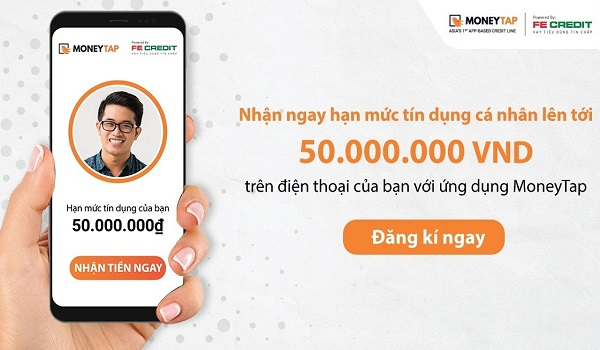 MoneyTap - App Vay Tiền Nhanh, Online Chỉ Với CMND
