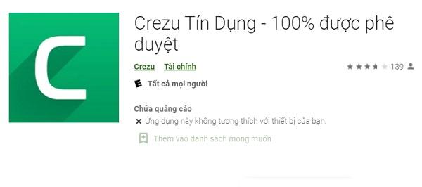Crezu - App Vay Tiền Nhanh, 100% Phê Duyệt Trong Ngày