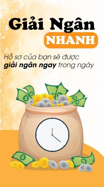 giải ngân nhanh tại one click money