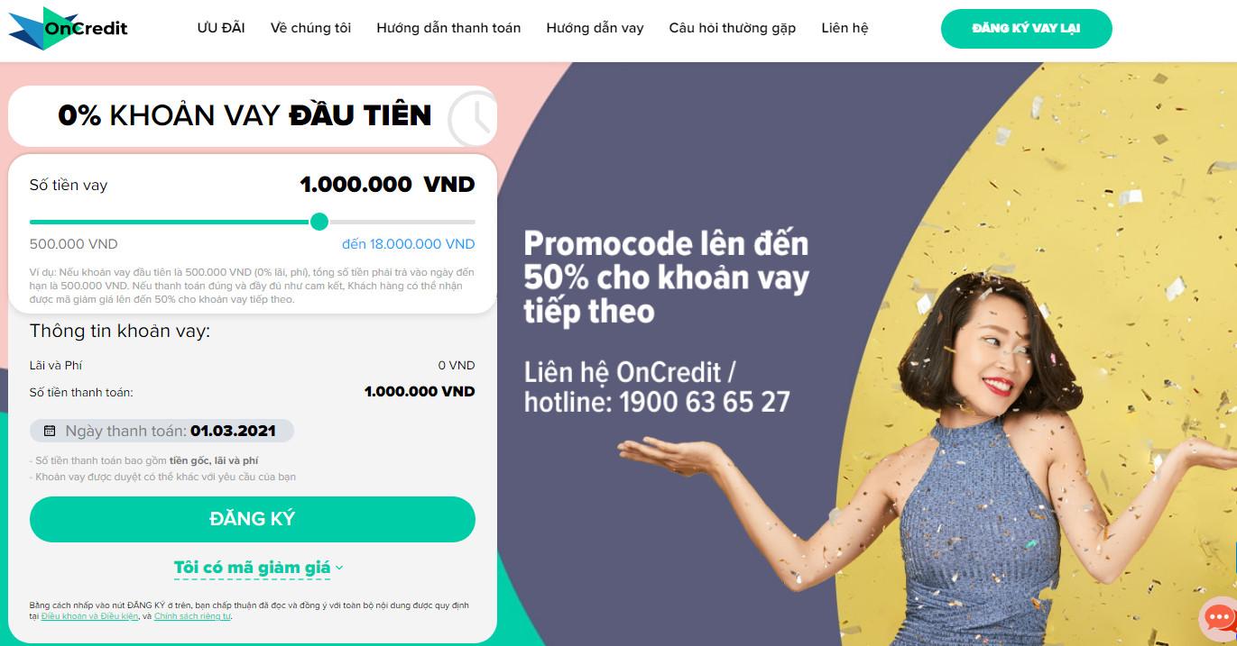 app vay tiền oncredit
