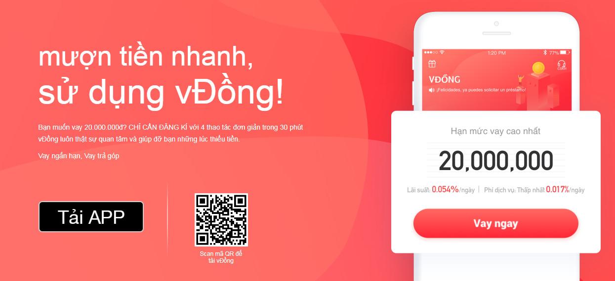 app Vđồng