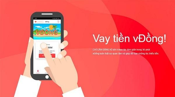 VĐồng - App vay tiền tín chấp, lãi suất chỉ 0.054%/ngày
