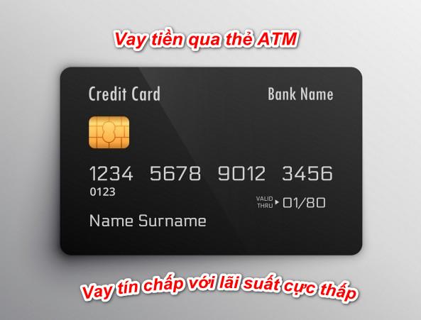 Vay tiền bằng thẻ ATM