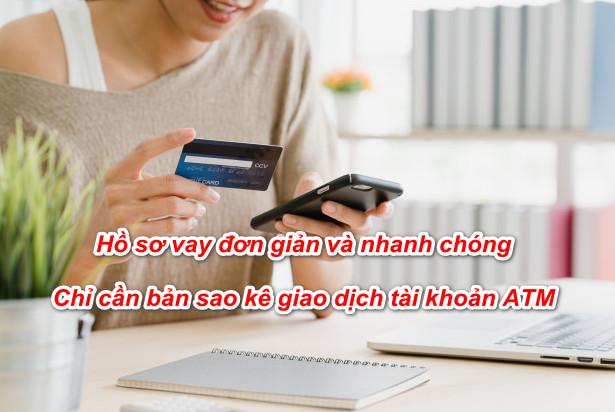 cách Vay tiền bằng thẻ ATM
