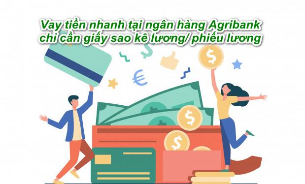 vay tiền ở Ngân hàng Agribank