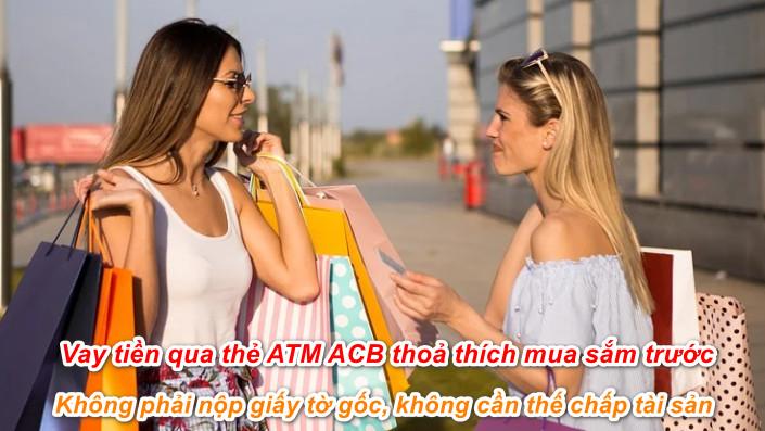 Có nên vay tiền qua thẻ ATM ACB