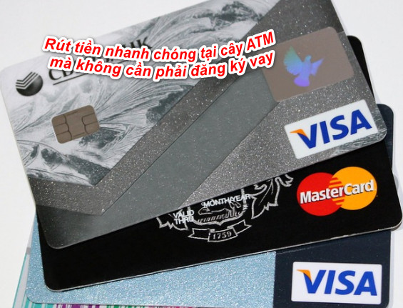 vay tiền qua thẻ ATM vietcombank