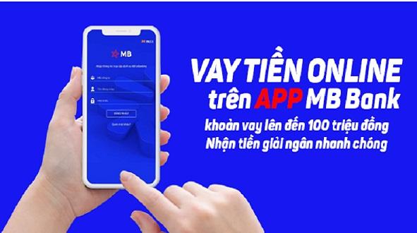vay tiền qua app mbank